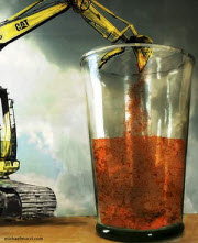 Mining boom drinks us dry