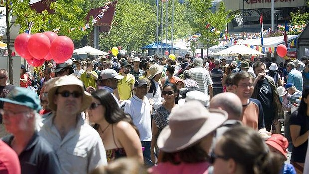 Canberra's population growth should be kept at a steady pace. Photo: Elesa Kurtz from Canberra Times article (see below)